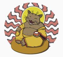 Buddha Cat Kids Tee