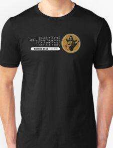 Black Pirates - 400th SQ - 90th BG - 5th AF    Emblem (White) T-Shirt