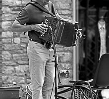 The Accordionist by Buckwhite