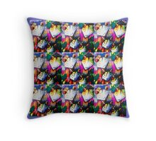 Emu farm Throw Pillow