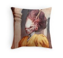 The Aristocrat  Throw Pillow