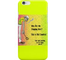 Fear & Loathing - With 2 D From The Gorillaz iPhone Case/Skin