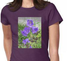 Little Purple Bells Womens Fitted T-Shirt