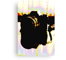homage to a pentax  Canvas Print