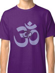 Om Aum symbol - purple Classic T-Shirt