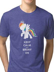 brony on Tri-blend T-Shirt