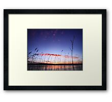 Coming Through The Rye Framed Print