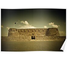Arad fort in Bahrain Poster