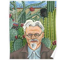 Frida Kahlo's Portrait of Leon Trotsky Poster