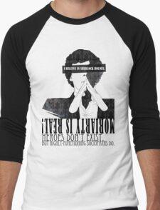 Sherlock: I believe in SH Men's Baseball ¾ T-Shirt