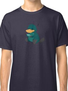 playing platypus Classic T-Shirt