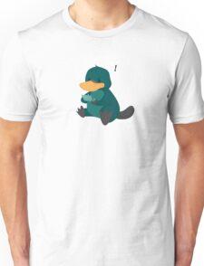 playing platypus Unisex T-Shirt