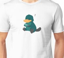 playing platypus Unisex T-Shirt