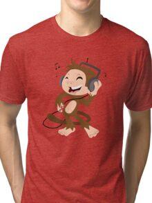 monkey dancing Tri-blend T-Shirt