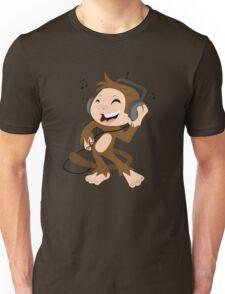 monkey dancing Unisex T-Shirt