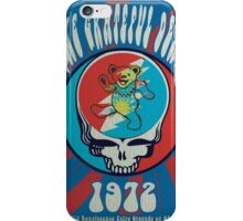 The Grateful Dead psychedelic poster iPhone Case/Skin