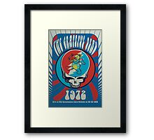 The Grateful Dead psychedelic poster Framed Print