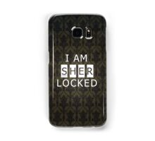 Sherlocked Samsung Galaxy Case/Skin