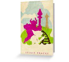 Tracks Greeting Card