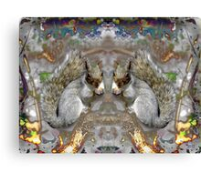 Two bushy Tails Canvas Print