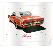1970 Dodge Charger ver 2 Poster