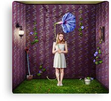 Indoor Gardener Canvas Print