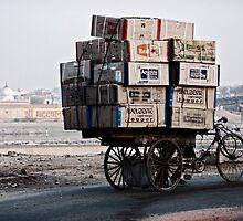 Heavy hauling by Sid Paleri