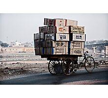 Heavy hauling Photographic Print