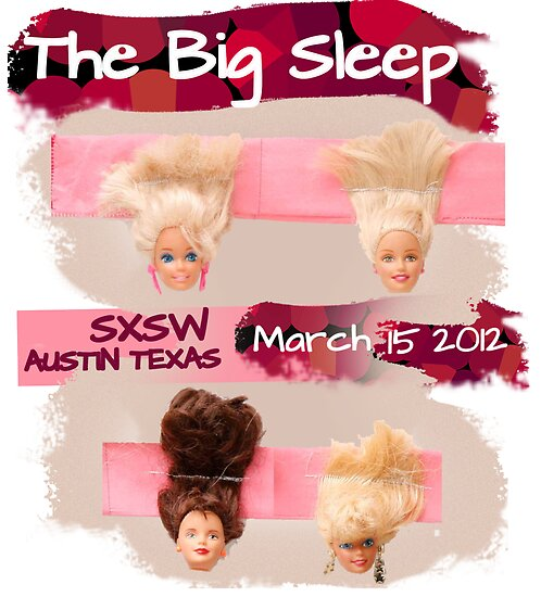 """""""The Line Up"""" Entry for The Big Sleep SXSW Austin Texas  by Margo Humphries"""