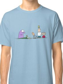 You have a bird on your head Classic T-Shirt