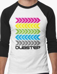 Dubstep arrows (light) Men's Baseball ¾ T-Shirt