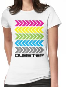 Dubstep arrows (light) Womens Fitted T-Shirt