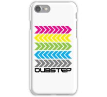 Dubstep arrows (light) iPhone Case/Skin