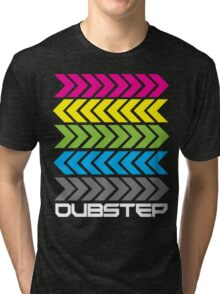 Dubstep arrows (dark) Tri-blend T-Shirt