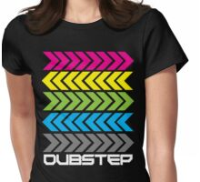 Dubstep arrows (dark) Womens Fitted T-Shirt