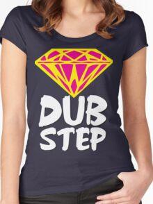 Dubstep Diamond Women's Fitted Scoop T-Shirt