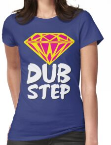 Dubstep Diamond Womens Fitted T-Shirt
