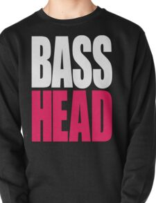 Bass Head (white/magenta)  Pullover