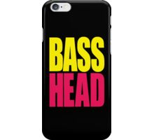 Bass Head (yellow/magenta)  iPhone Case/Skin