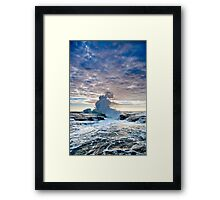 Forces of nature Framed Print
