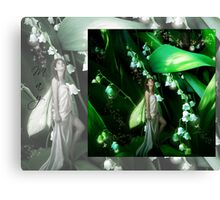 Lady Firefly Canvas Print