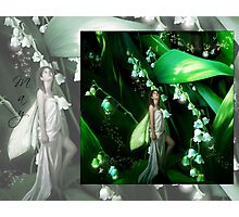 Lady Firefly Photographic Print