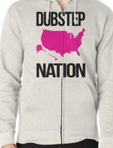 Dubstep Nation  Zipped Hoodie