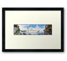 Chao Phraya Panoramic Framed Print
