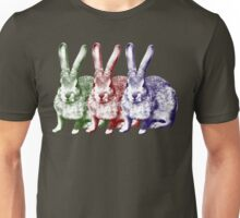 Colorfull Bunnies Unisex T-Shirt