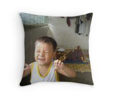 Cute Boy - Amos Throw Pillow