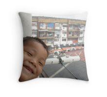 Cute Boy 2 - Amos Throw Pillow