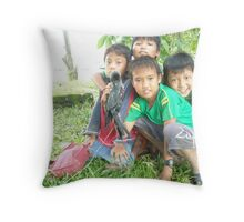 A New Friend? 2 - Andrew Throw Pillow