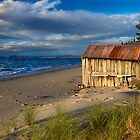 Ye old boatshed - Bruny Island, Tasmania by clickedbynic