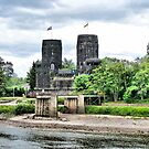 Ludendorff Bridge -Remagen. by Lilian Marshall